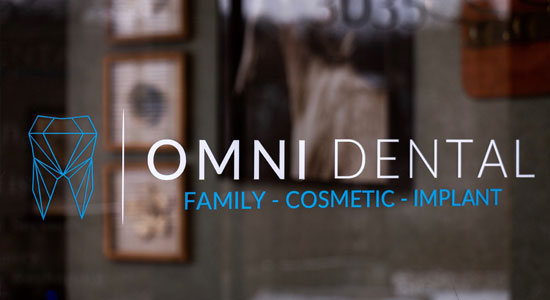 Omni Dental Office Decal